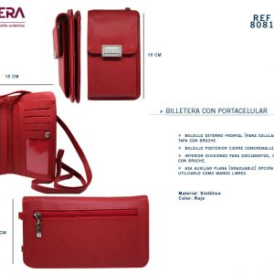 Billetera Dama REF 8081
